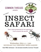 Insect Safari benefit for Common Threads