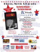AGENDA Dinner & Movie w/ Special Guests Tom Tancredo & Movie Writer & Producer Curtis Bowers