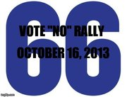 """No on Amendment 66 Honk & Wave Rally"""