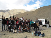 shooting Himalayas