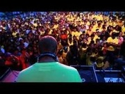 August 7, 2010 letsshare festival in cebu city. marcel an Dj brazz yello adience and broadcast on television