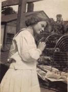 Lillian Elizabeth Sowers as a teen