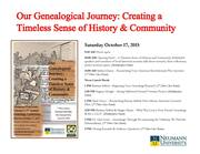 3rd Annual Genealogy Conference at Neumann University Library