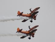 Breitling stunt met dames in de lucht