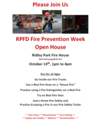 Ridley Park Fire Company Open House