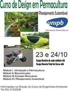 Curso de Design em Permacultura - Planejamento Sustentavel - UNIPB