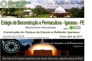 Estágio em Bioconstrução e Permacultura - Igarassu - PE