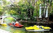 Морската градина - езеро и лодки  2