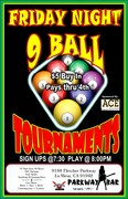 9 Ball Tournament