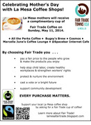 Celebrating Mother's Day with a Fair Trade Cup of Coffee