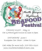 Seafood Festival Open Car Cruise In -Young Harris, GA