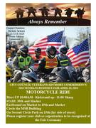 2016 Veterans Fair and Motorcycle Ride