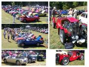 "38th Annual ""MGs On the Rocks"" British Car Show"