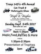 Swoyersville,PA Troop 143 Car Show