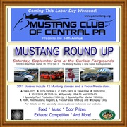 MCCPA's 14th Annual Mustang Round Up
