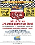 Joey's Fund Charity Car Show - Help Kids Get Better with Their Families by Their Side
