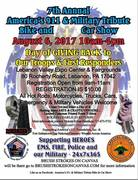 AMERICAS 911 & MILITARY TRIBUTE BIKE AND CAR SHOW