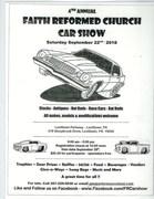 4th Annual Faith Reformed Church Car Show, Levittown, PA