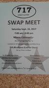 SWAP MEET HOSTED BY THE 717 STREET & STRIP CAR CLUB