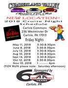 Cumberland Valley Classics Car Club Cruise Nights