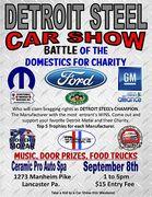 Detroit Steel Car Show