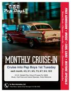 Pep Boys Monthly Cruise-In