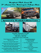 Westfield PBA Local 90 Car, Motorcycle and Jeep Show