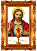 July -- prayer to the Precious Blood of Jesus