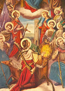 Prayers to the Fourteen Holy Helpers, in this tumultuous time