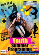 Free Youth Summer Programme Ages 13-19