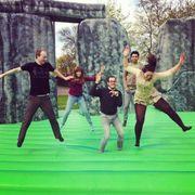 Sacrilege 2012 - Bouncy Stonehenge at Ally Pally
