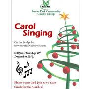 Carol Singing: Bowes Park Garden Group