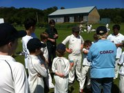 Youth cricket training at Alexandra Park CC