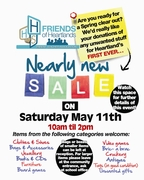 Nearly New Sale and Cake Contest!