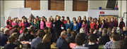 Bowes Park Community Choir at the Arts Depot