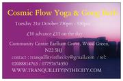 Cosmic Flow Yoga With Gong Bath Event