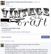 VINTAGE AND CRAFT FAIR