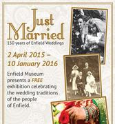 Just Married: 150 Years of Enfield Weddings