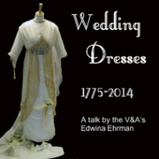 Enfield Museum presents Wedding Dresses 1775-2014; a talk by the V&A's Edwina Ehrman