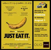 """Just Eat It - A Food Waste Story"" film & discussion"