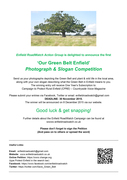 'Our Green Belt Enfield' Photograph & Slogan Competition.