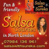 Salsa Wednesdays in Bounds Green