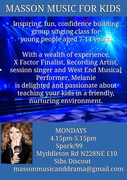 MASSON MUSIC FOR KIDS FREE TRIAL CLASS TODAY!