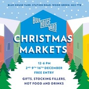 Blue House Yard Christmas Market 16 Dec