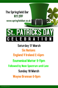 St Patrick's Weekend Celebrations