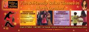 Salsa Wednesdays in North London