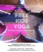 FREE KIDS YOGA