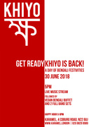 Khiyo BD Album Launch + Day of Bengali Festivities