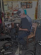Jazz Guitar and Coffee at the Corner Store
