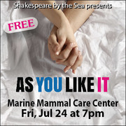 "Shakespeare by the Sea Presents: ""As You Like It"""